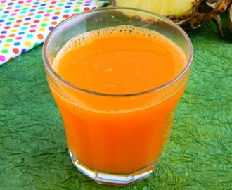 Carrot Pineapple Ginger Juice Recipe / Detox Juice