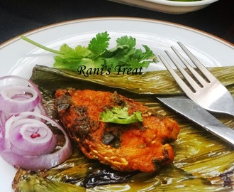 Steamed Fish in Banana Leaf | Meen Pollichathu | Fish Fry in Banana Leaf | Vazhai Ilai Meen
