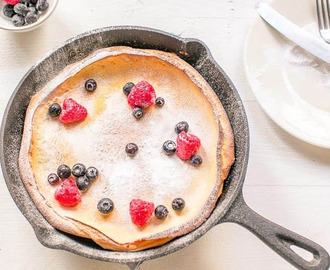 Sweet Dutch Baby pancake