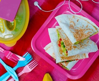 Vegetarische quesadillas