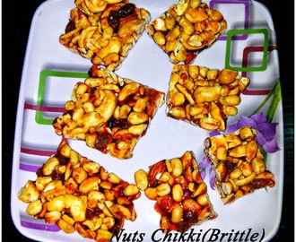 Nuts Patti/Chikki(Brittle)Recipe
