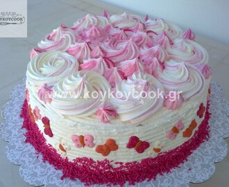 ROSE BIRTHDAY CARAMEL CAKE