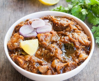 Mutton Thokku / South Indian style spicy Mutton Gravy