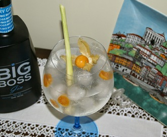 Big Boss Gin Tónico com Citronela e Physális