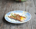 Savory Crepes Recipe – Buckwheat Crepes with Ham and Egg aka Galette Bretonne