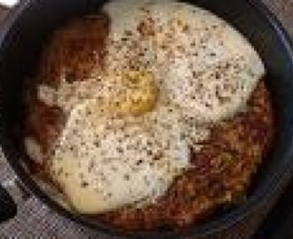 Parsi Style Potatoes With Eggs