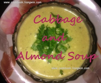 Cabbage and Almond Soup