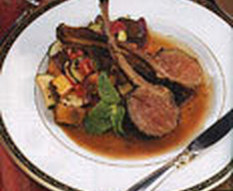 Spice-Crusted Rack of Lamb
