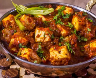 Recipe for Paneer Butter Masala
