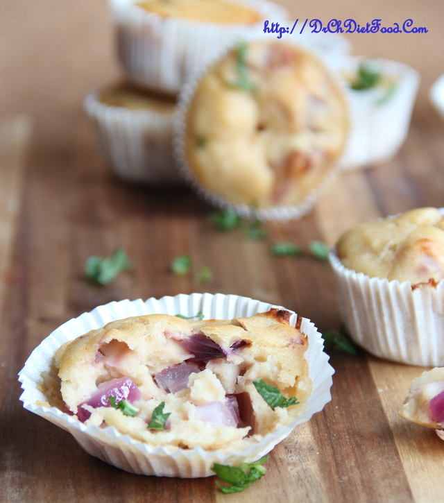 Savoury Muffins from Dosa Batter