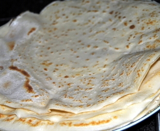 MASSA DE CREPES