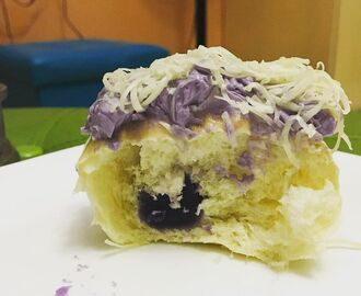This #ube ensaymada is soft, creamy, and indulgent. Very #titasofmanila. #guilty