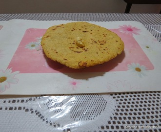 Makke ki roti ( Indian flat Bread From of Corn Meal)