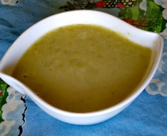 Leek and potato soup - recipe