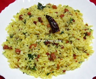 Chitranna (Raw Mango Rice)