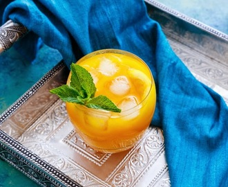 Mango Lemonade Recipe  #foodphotography #beverage #drink #newpost