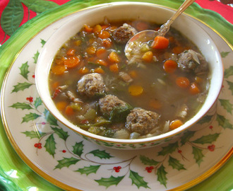 Authentic Italian Wedding Soup Recipe
