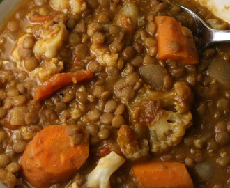 Veggie Curry with Lentils