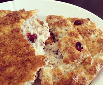 COTTAGE CHEESE SCONES