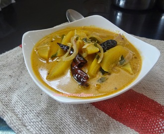 Pachamanga Curry/Mango Curry/Raw Mango in Coconut Milk Curry
