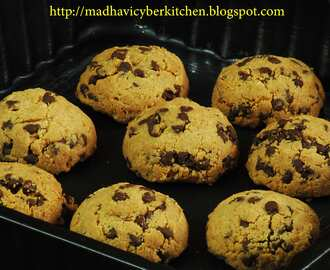 Tofu Chocolate Chip Cookies -Guest Post from Madhavi