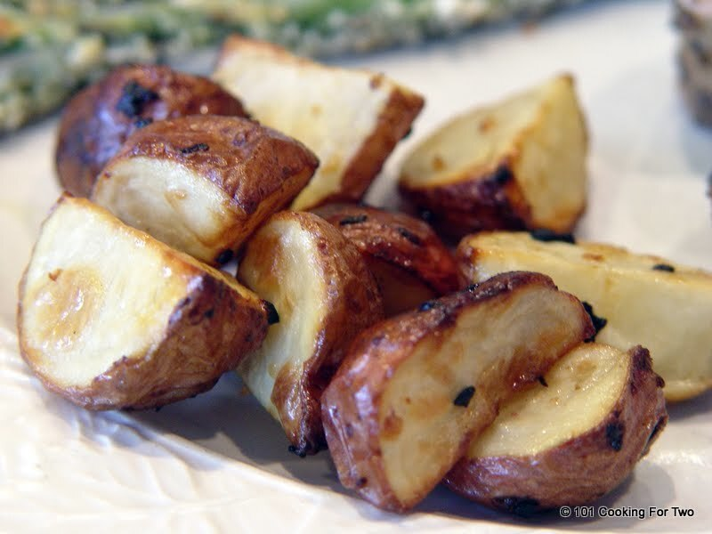 Easy Roasted Red Potatoes