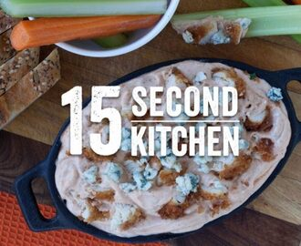 Kicked-Up Buffalo Ranch Chicken Dip