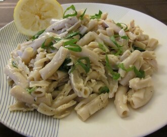 Gluten Free Lemon and Arugula Chicken Pasta