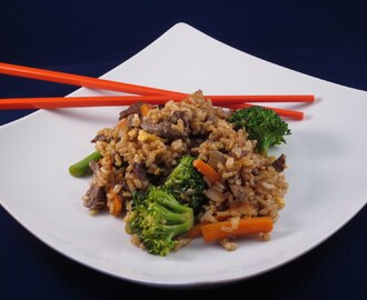 Culinary Challenge: Out-of-the-Pantry Stir Fried Rice