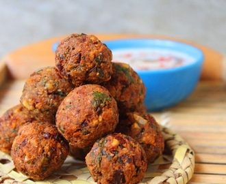 Lebanese Falafel Recipe / How to Make Chickpea Falafel Recipe