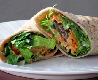 """Chicken Wraps Recipe..."""