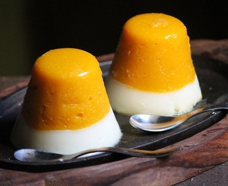 Layered Mango Panna Cotta Recipe