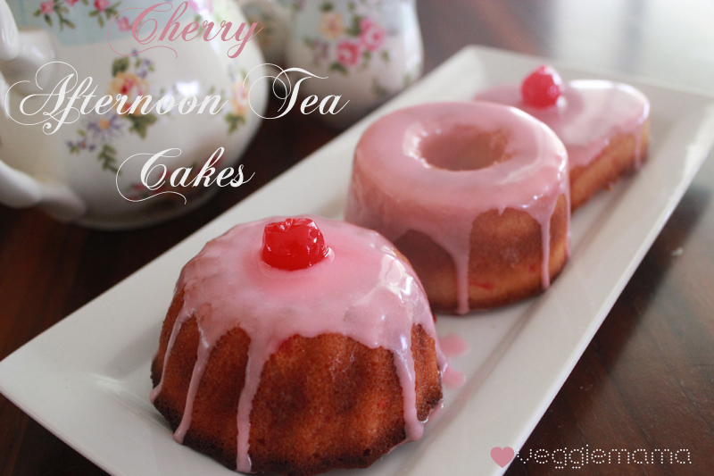 Vintage Lane - Cherry Afternoon Tea Cakes from the WMU Cookery Book