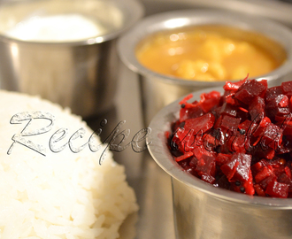 Beetroot Stir Fry । Beetroot Palya । Beetroot Poriyal