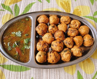 OATS AND MIXED MILLET MINI BITES / OATS AND MIXED MILLET MINI BONDA