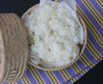 How to Cook Thai Sticky Rice in a microwave