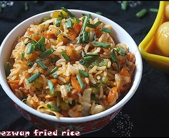 SCHEZWAN FRIED RICE/KIDS SPECIAL/LUNCH BOX IDEA