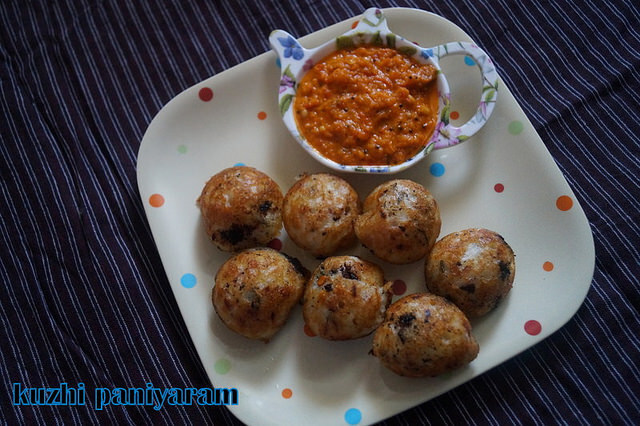 KUZHI PANIYARAM/CHETTINAD RECIPES