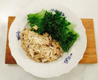 Risotto med svamp – Recept