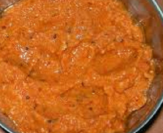 Instant South Indian onion tomato chutney recipe