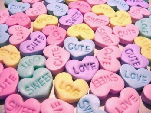 make your own: love hearts