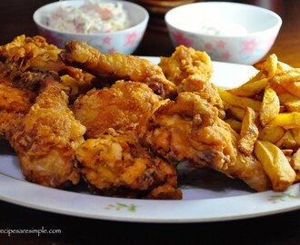 AlBaik Style Broasted Chicken