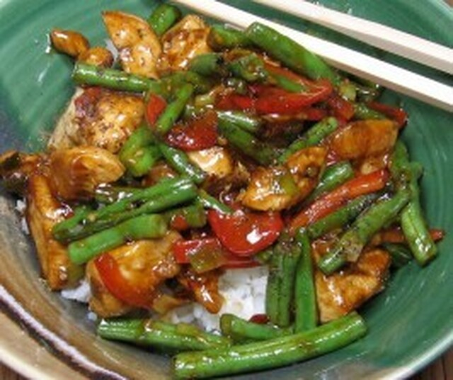 Singapore Black Pepper Chicken