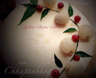 No Cook/No Bake Lycee/Litchee Cheese Cake