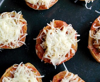 Potato Pizza Bites