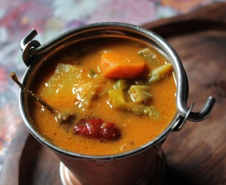Vegetable Sambar Recipe / Veg Sambar Recipe