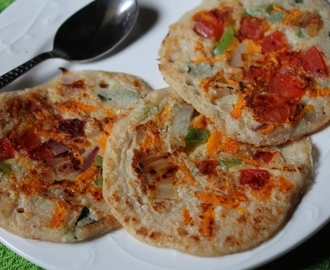 Oats Uthappam Recipe / Instant Oats Uthappam Recipe