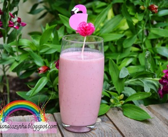 Smoothie de Morango e Banana