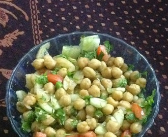 Aloo Chana Chaat Recipe | Potato and Chickpea Salad