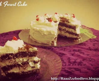 Black Forest Cake Recipe | Black Forest Gateau